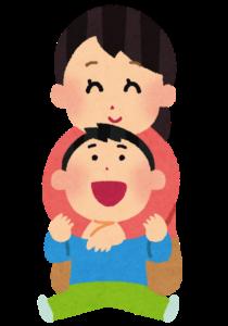 母と幼い息子