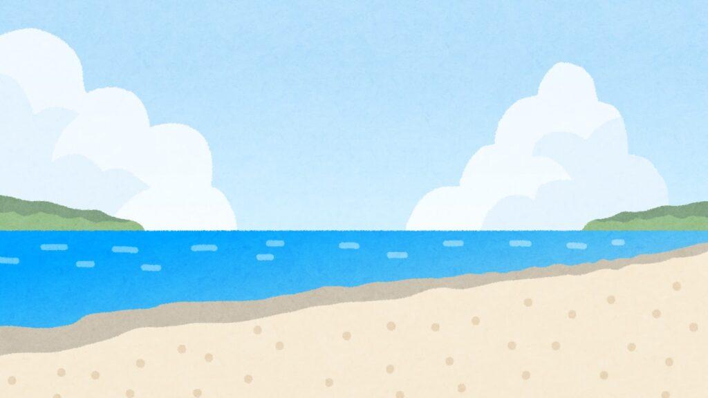 海辺の景色