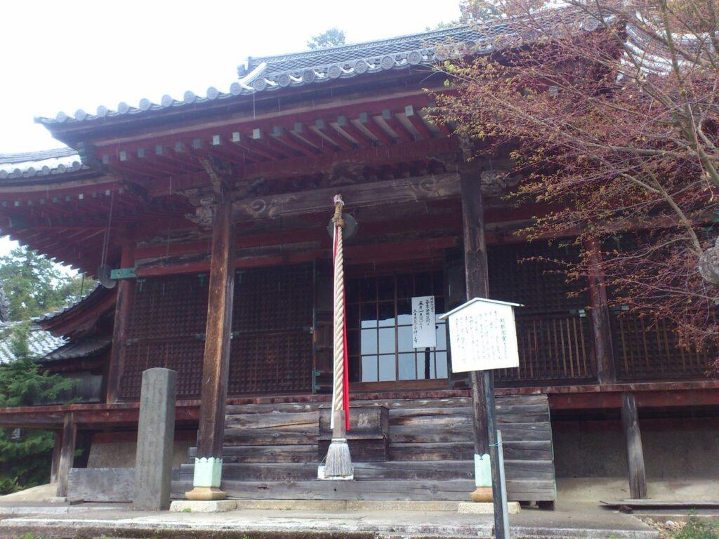 長寿院の阿弥陀堂