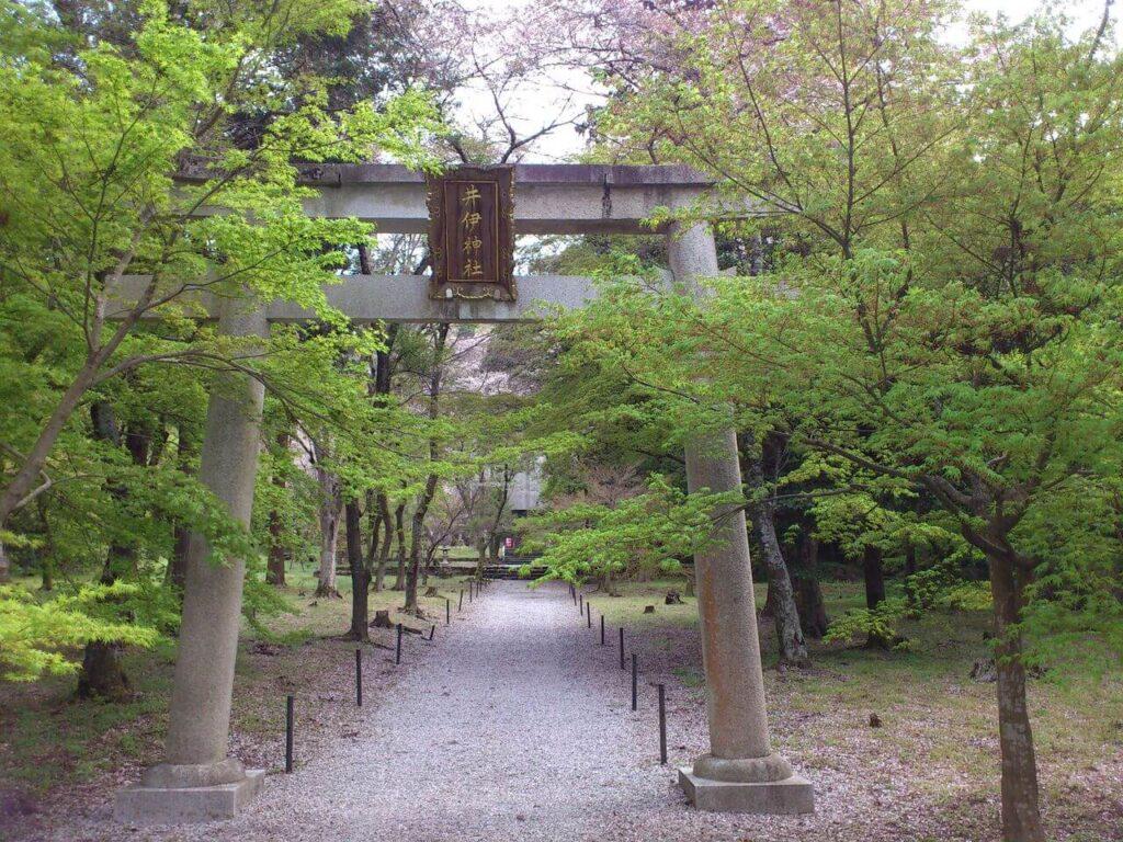 井伊神社の鳥居