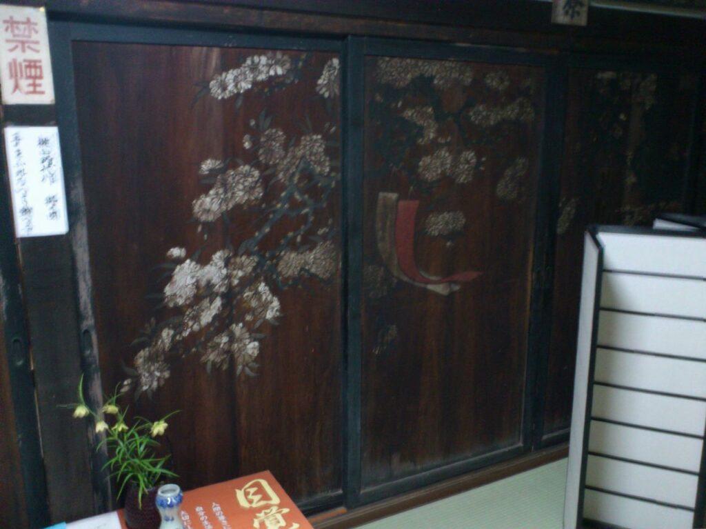 石田三成の屋敷にあった襖
