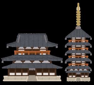 奈良の法隆寺