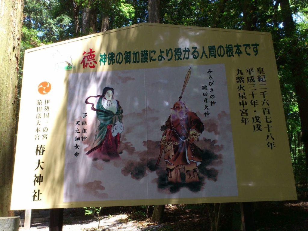 椿大神社の祭神
