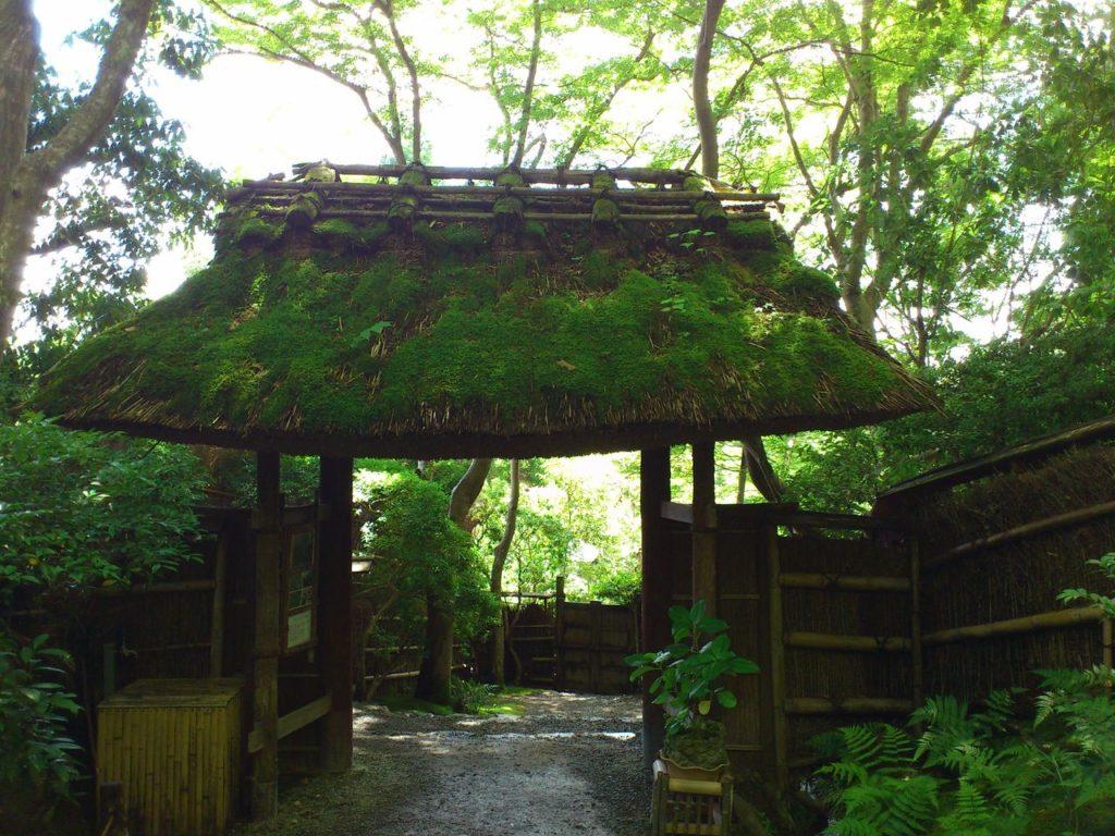 祇王寺の山門