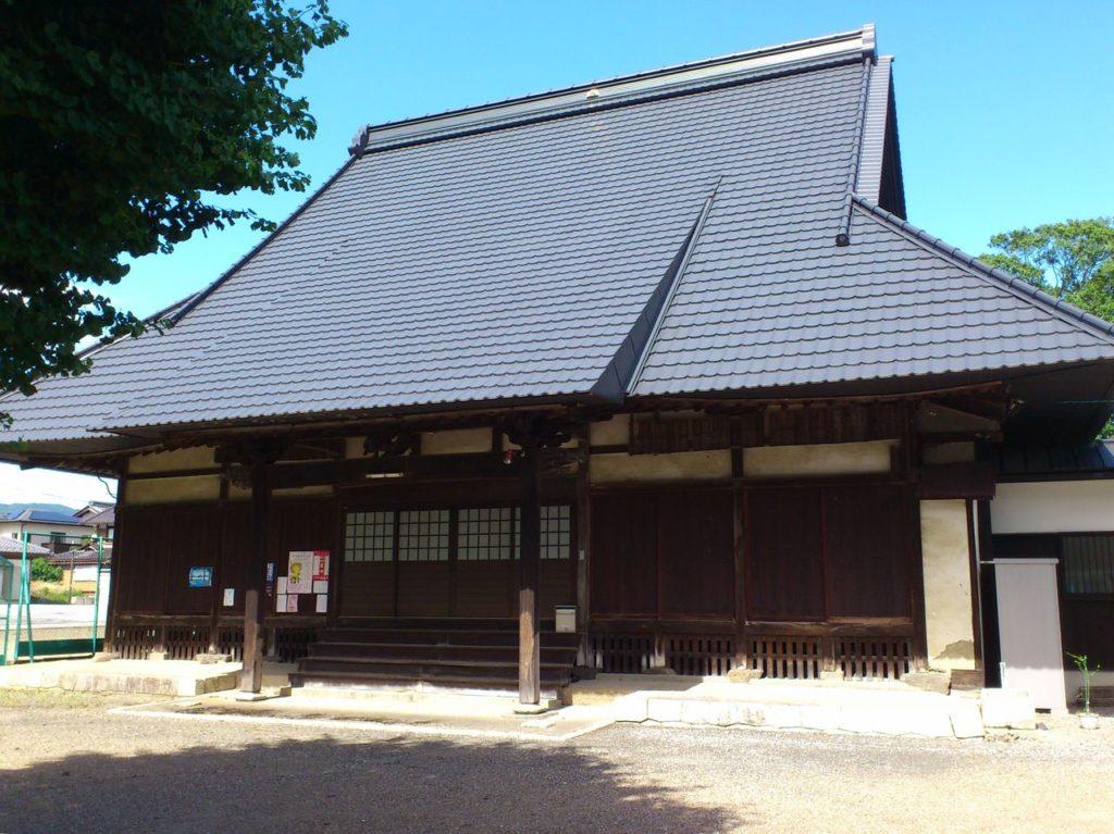 伝正寺の本堂