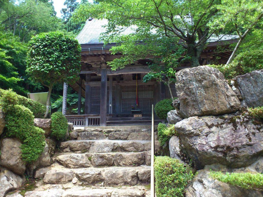 石道寺の虎口