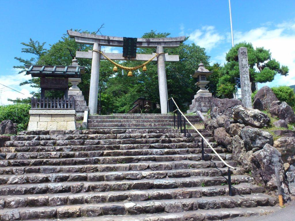 与志漏神社の大鳥居