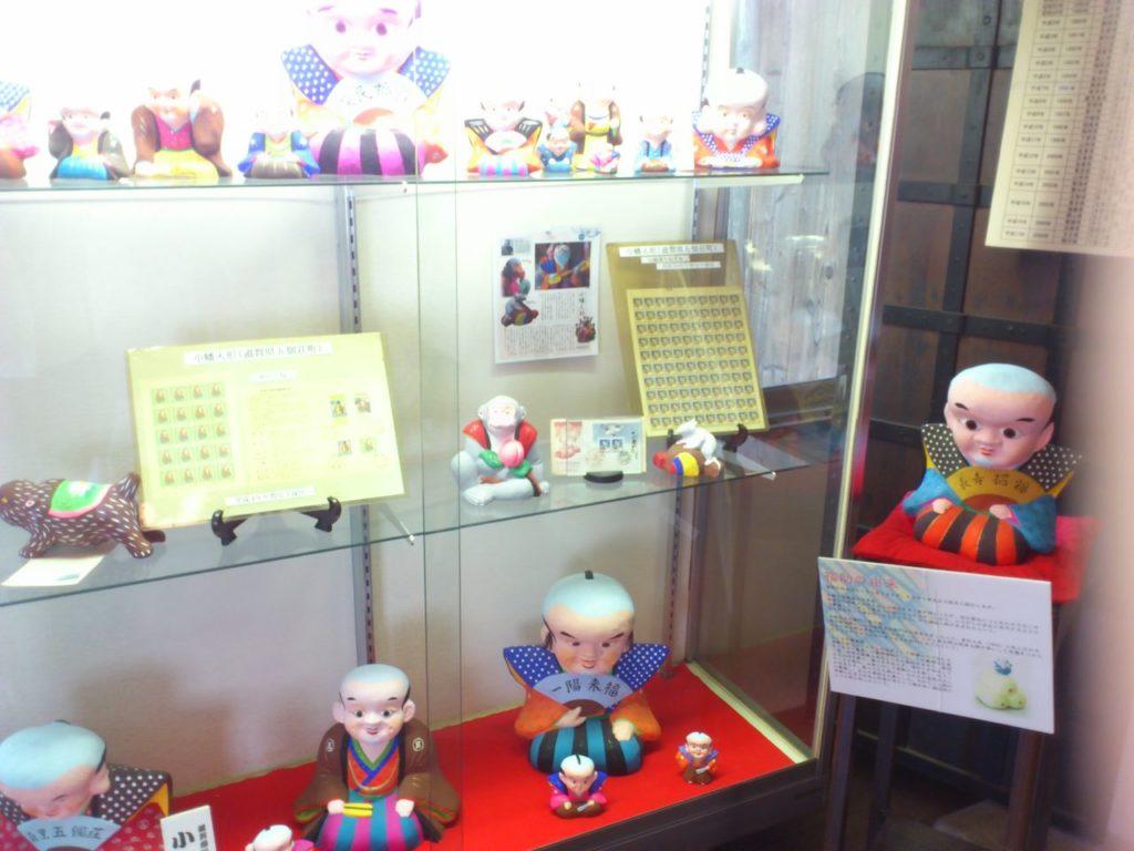 中江準五郎邸の福助人形