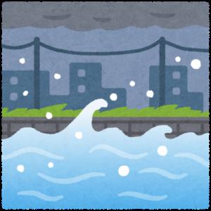 水量の多い川