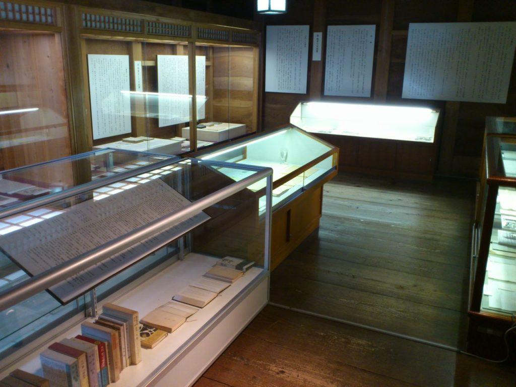 外村繁文学館の展示
