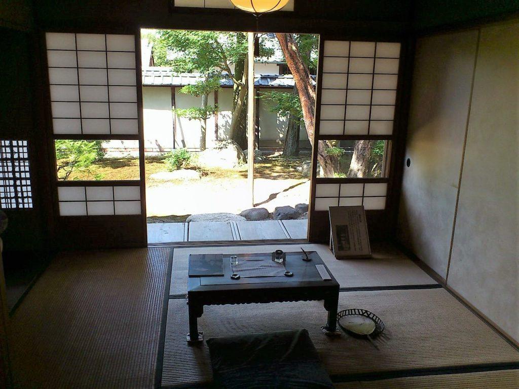 外村繁邸の執筆部屋