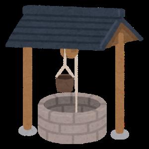 つるべ式の井戸