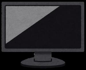 コンピューターのディスプレイ