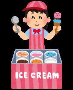 アイスクリーム屋