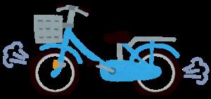 自転車のパンク