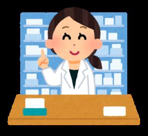薬局の女性薬剤師