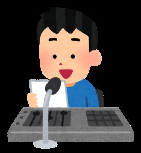 放送委員の少年