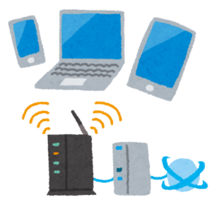 無線LAN親機に接続するネットワーク機器