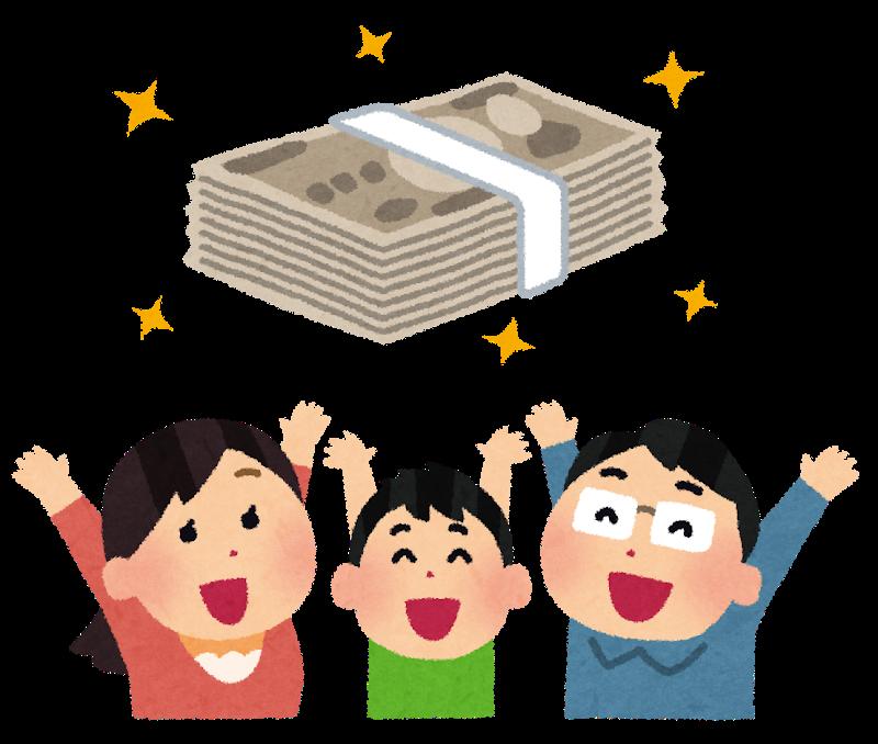 家族の収入