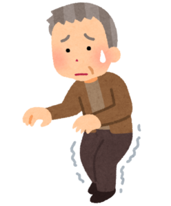 足腰の弱いおじいさん
