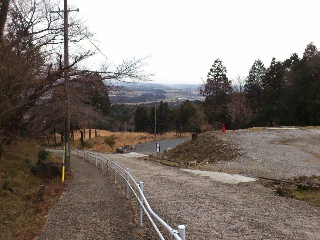 福王神社からの帰り道