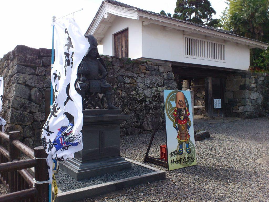 竹中半兵衛公の像