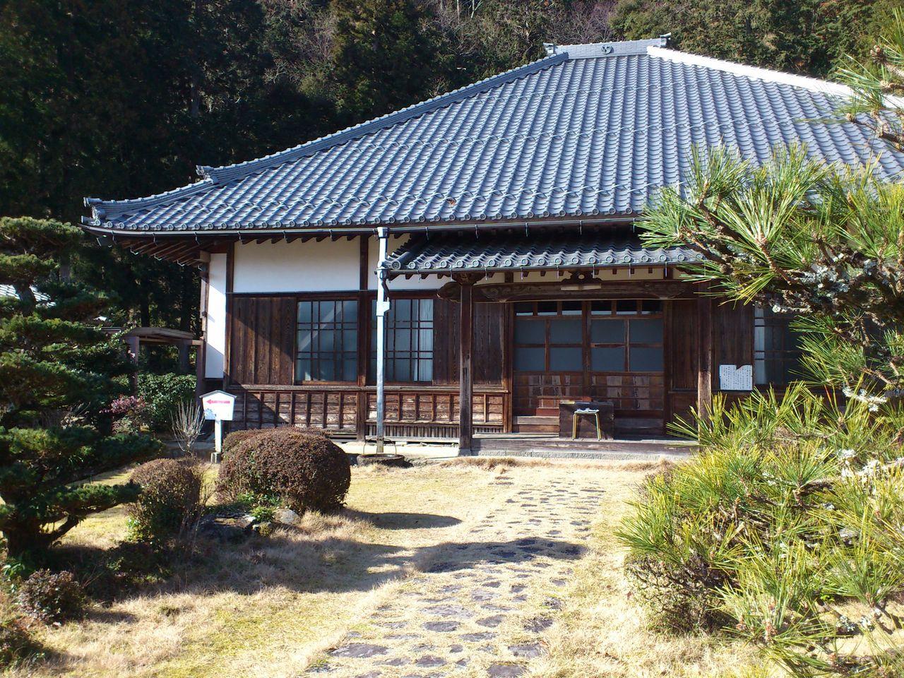 禅幢寺の本堂