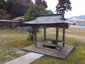 泉明院の手水舎