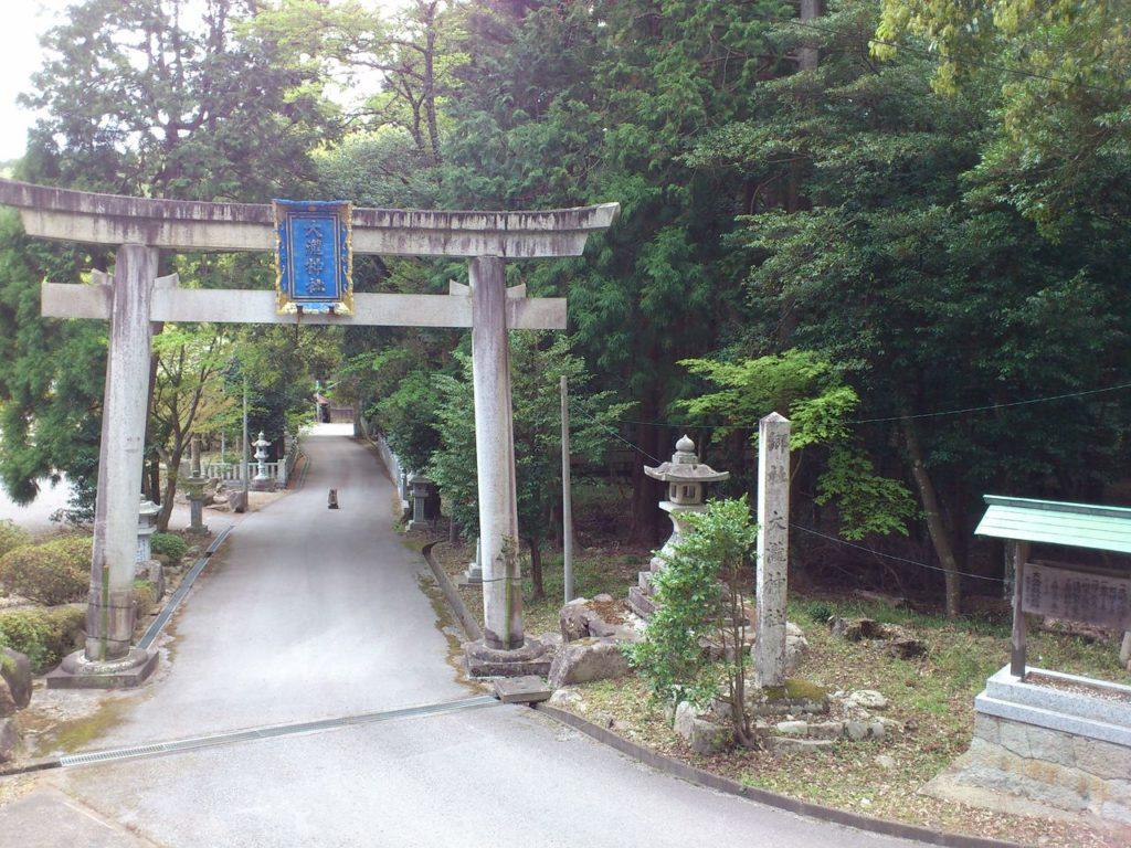 大瀧神社の大鳥居