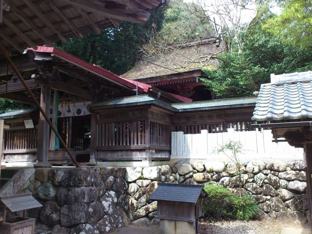 大瀧神社の本殿
