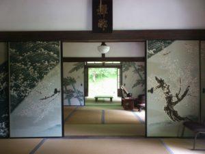 近江孤篷庵本殿の最初の部屋