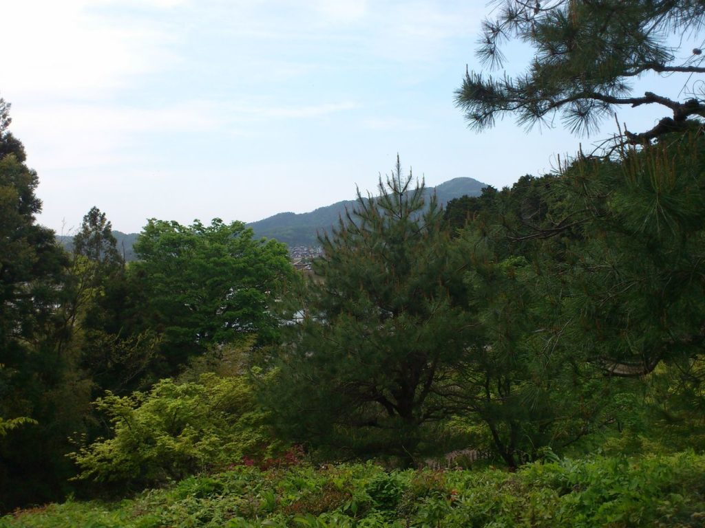 近江孤篷庵の見晴らし台