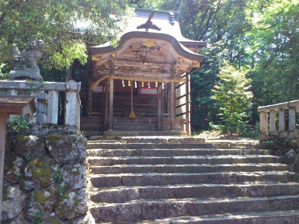 闇見神社の本殿