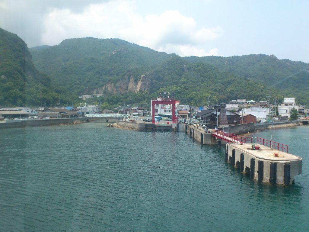 小豆島福田港