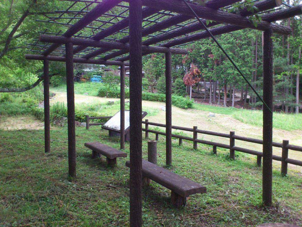 八幡社古墳群の見物台