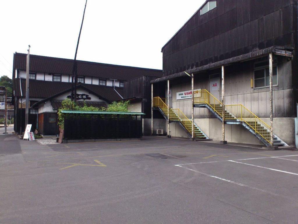 マルキン醤油記念館の駐車場