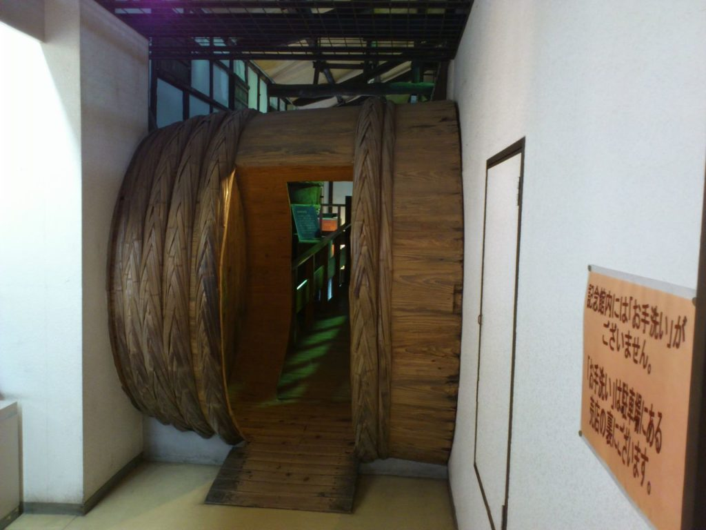 大樽の通路