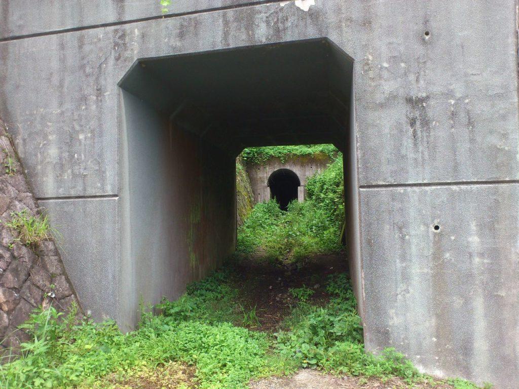 西野水道の琵琶湖側