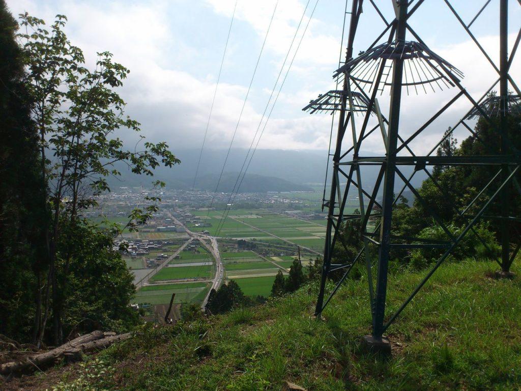 山から交差点「大音」