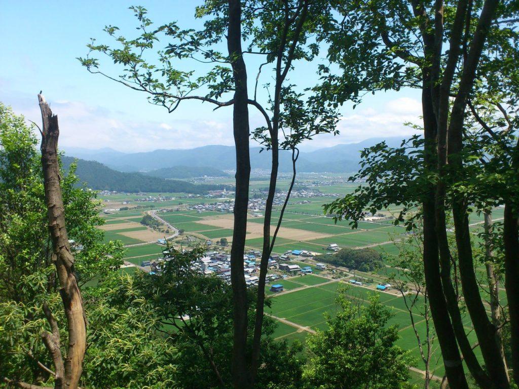 熊野集落と古保利小学校