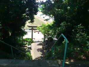 宇賀神社の階段