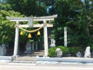 宇賀神社の鳥居