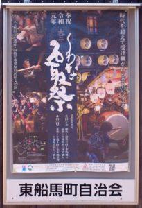 くわな石取祭のポスター