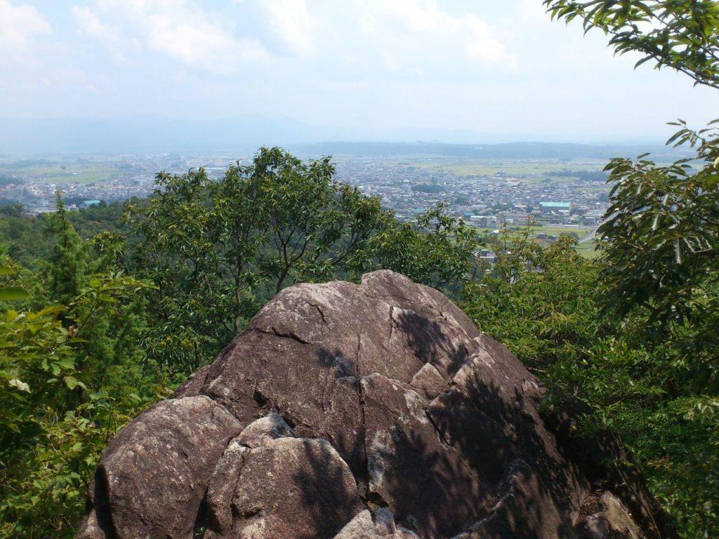 大岩からの眺め