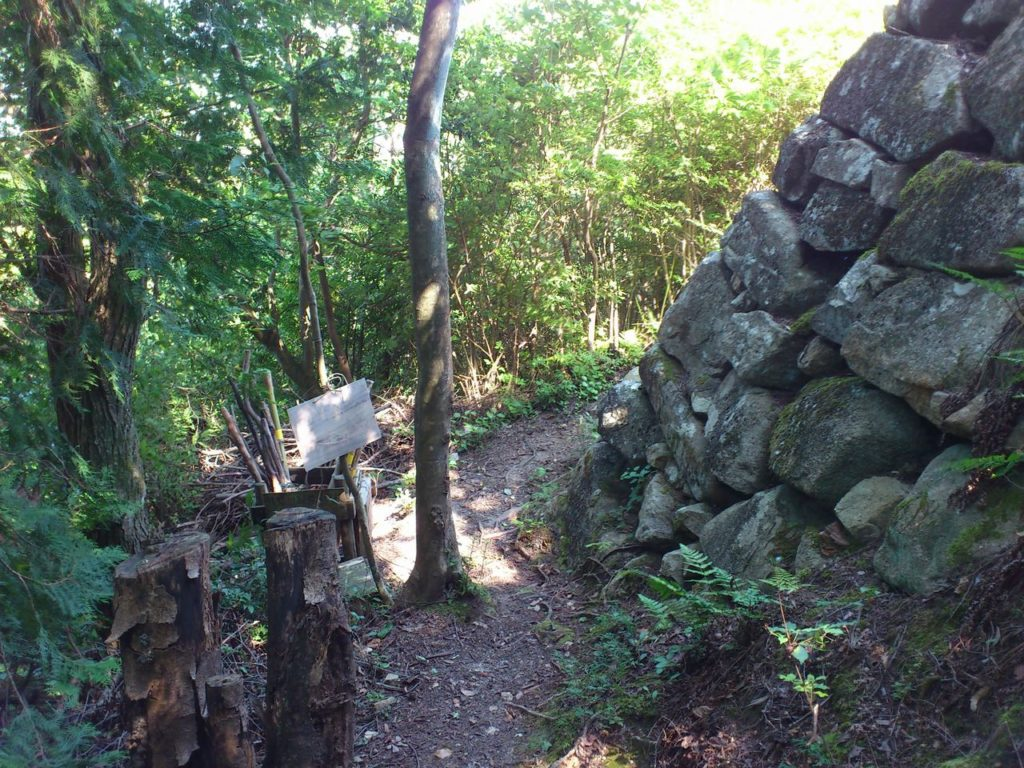 北の丸の石垣