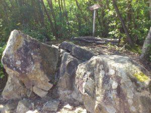 水郷展望台の岩場2
