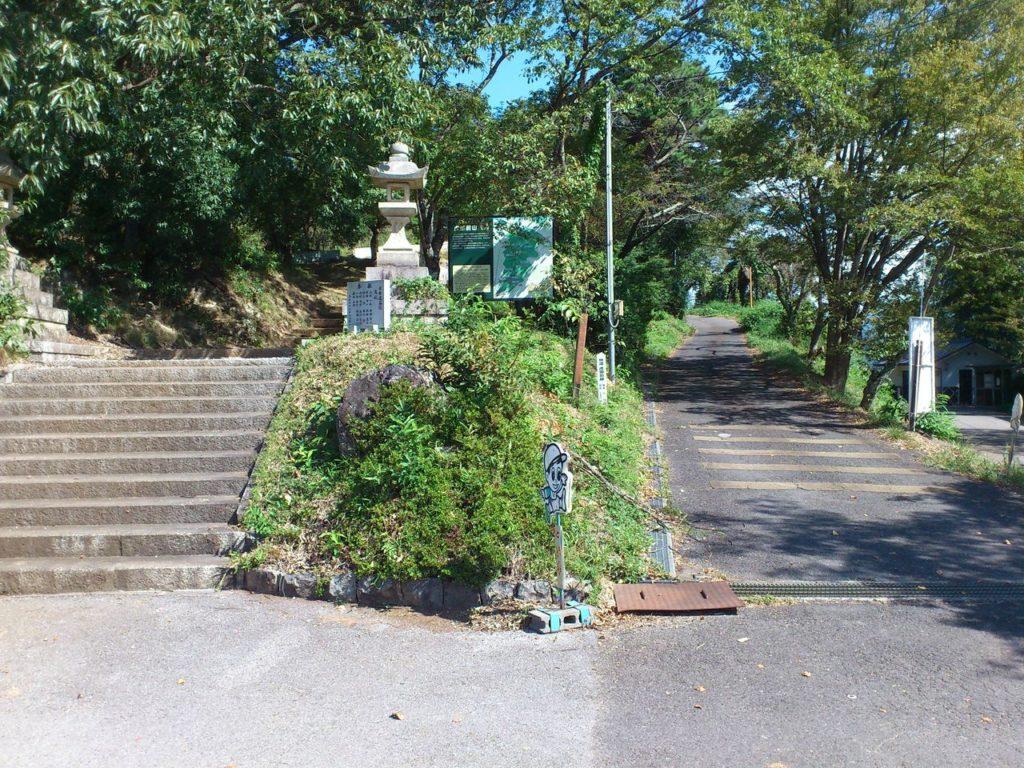 矢合神社の入り口