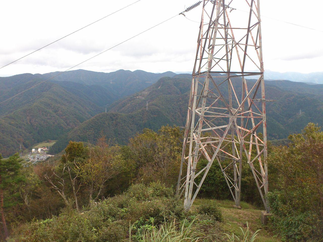 2つめの鉄塔から(右)