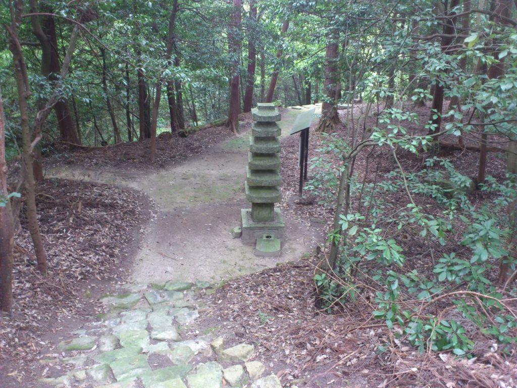謎の多い七層石塔