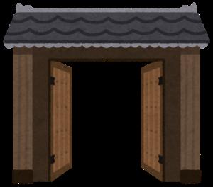 アジアの門(半開き)
